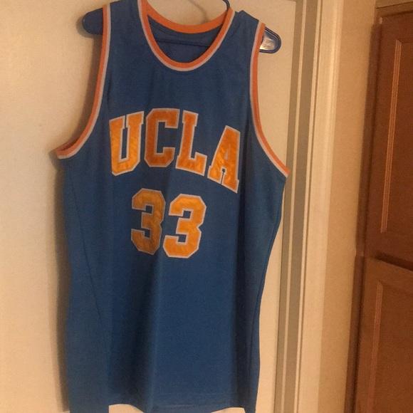 pretty nice 799af 3e214 Kareem Abdul jabbar throwback UCLA Jersey